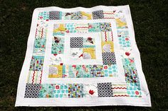 fat quarter baby quilt - Google Search