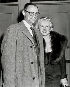 Marilyn Monroe Photos, Famous Couples, Candid, Two By Two, Hollywood, Actors, Film, Couple Photos, Model