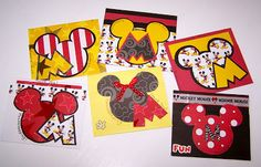 Mousekeeping Tip Envelopes for Disney