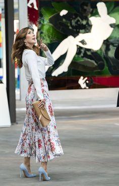 Prince Frederick, Queen Margrethe Ii, Danish Royals, Mary Elizabeth, Crown Princess Mary, Ceramic Design, Royal Fashion, High Waisted Skirt, Croatia Travel