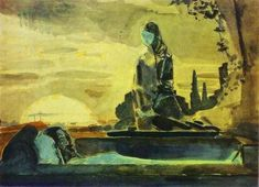 Pieta, Mikhail Vrubel, 1887