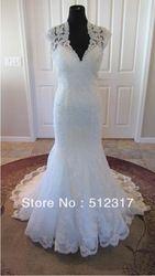 Online Shop 2013 Hot Sale latest design lace back keyhole real sample wedding dress|Aliexpress Mobile