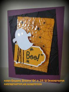 Stampin' Up! Up Halloween, Halloween Cards, Halloween Treats, Karen, Stampin Up Paper Pumpkin, Pumpkin Cards, Fall Cards, Craft Kits, Cardmaking