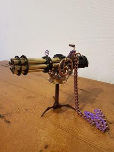 mini steampunk gun
