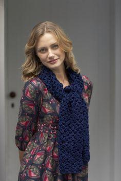 Free Crochet Pattern: Gorgeous Mesh Scarf