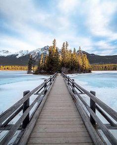 "3,343 Likes, 28 Comments - Jasper, Canada (@tourismjasper) on Instagram: ""Amazing views ahead 👉  Photo by: @ashvoykin #myjasper"" pyramid island"