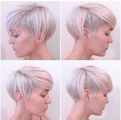 Op zoek naar een nieuw model voor je haar? Bekijk deze 15 blonde beeldschone korte kapsels en maak die kappersafspraak! - Kapsels voor haar