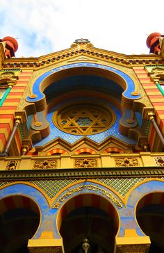 Spanish Synagogue: http://bbqboy.net/photo-essay-keep-falling-love-prague/ #prague #czechrepublic
