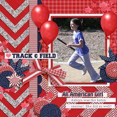 Track and Field - Scrapbook.com