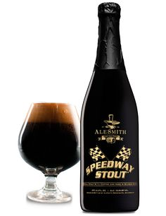 AleSmith Barrel-Aged Speedway Stout | Barrel-Aged Speedway Stout is aged premium bourbon barrels for up to one year to create the perfect blend of flavors.