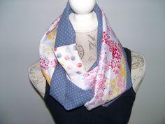 Echarpe snood de printemps tissus japonais : Echarpe, foulard, cravate par couleur-boheme