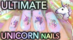 Do you wanna be a unicorn? Keep trying, but your nails can! See how to create an iridescent magical UNICORN WINDOW TO YOUR SOUL using 100% ethically harveste...