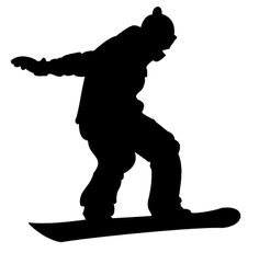 silhouettes of snowboarders - Google Search