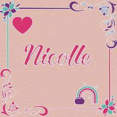 My name