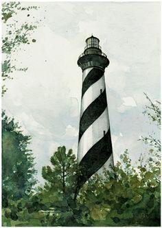 Cape Hatteras Lighthouse.  David Scheirer
