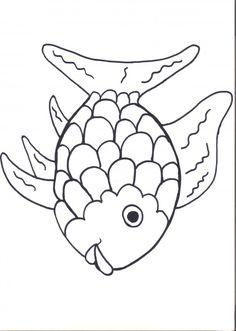 Free Rainbow Fish Template Pdf 2 Pages Page 2 Vbs