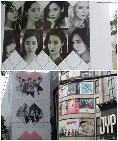 Kpop-fanin pyhiinvaellus Gangnamiin - K-Star Road & SMTOWN coexartium Soul, Korea, Kpop, Descendants, Red Velvet, Gallery Wall, Polaroid Film, Stars, Sterne