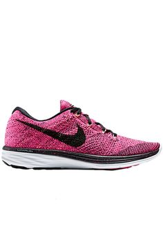 Nike Flyknit Lunar 3 – Pink Foil / Black – Pink Pow
