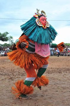costumes from Ivory Coast