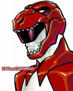 036 - Red Ranger by theCHAMBA on DeviantArt