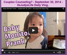 Couples Counseling? - September 30, 2014 - itsJudysLife Daily Vlog..