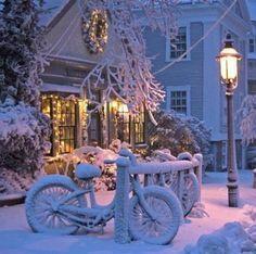 Fresh fallen Christmas snow...
