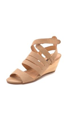 de84e8f3aef6 Matiko Ursina Wedge Sandals Nude Wedges, Couture Embellishment, Ankle  Straps, Simple Dresses,