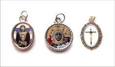 Medallas religiosas pequeñas de metal