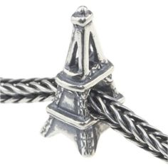 Solid Sterling Silver Paris Eiffel Tower Charm Bead for pandora bracelet | Your #1 Source for Jewelry and Accessories