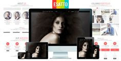 Esatto - One Page Responsive Bootstrap Template