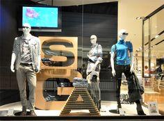 GAS window displays Autumn 2012, Budapest visual merchandising