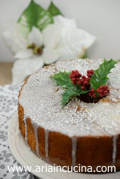 Blog di cucina di Aria: Chiffon Cake all'arancia e cannella con semi di pa...
