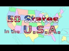 The 50 States Song - I like this for teaching when the students need to think.  It is calming approach and focuses on locations that are close together.  This is so good for children who need help focusing and have processing deficits.  Also, great for teachers who need a change up from the fast paced flashy video clips.  Recommended by Charlotte's Clips