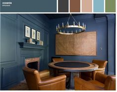 Color Inspiration: Celebrity Homes | 360° Painting of blog