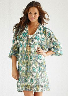 Carrie Paisley Dress