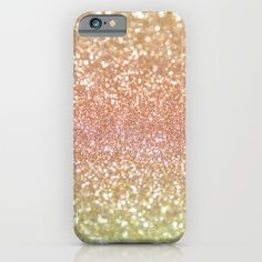 Champagne+Shimmer+iPhone+&+iPod+Case+by+Lisa+Argyropoulos+-+$35.00