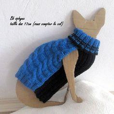 Winter baby Sphynx cat sweater
