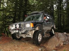 Land Rover Discovery - Fossil Beach Run
