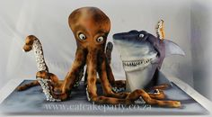 Octopus and Shark Dorothy Klerck