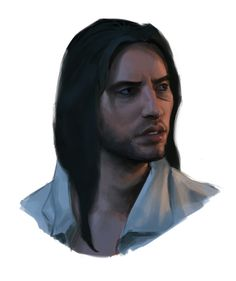 """For all you who have been wondering how Arno Victor Dorian looks with his hair loose, well here you go - Jay Creed  .- Edited From artist """"BB"""" :)"""