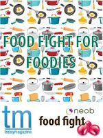 Food Fight incorporated into both neob's Lavender and Garlic & Herb Festival for 2014.. lot's of food to try.