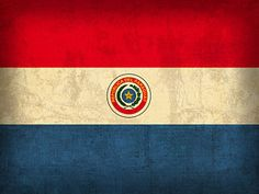 Distressed Flags Mixed Media - Paraguay Flag Vintage Distressed Finish by Design Turnpike