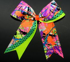 Swish Cheer Bow  Sequin  Custom  Squad Discount by ABCBows on Etsy