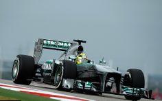 Formel 1 2013, US GP, Austin, Texas, Nico Rosberg, Mercedes AMG