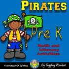 Pirate Pack PreK Math and Literacy Activities by Giggling Wombat | Teachers Pay Teachers