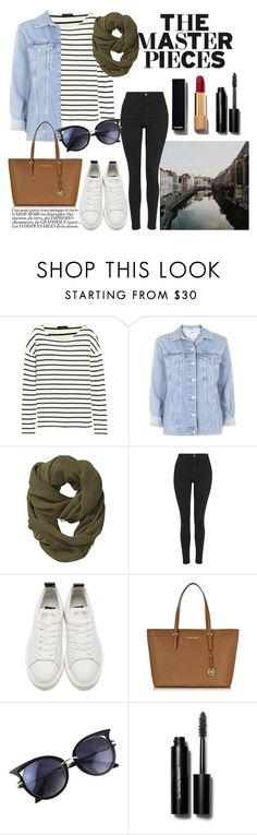 """""""Untitled #125"""" by maiaa-2001 ❤ liked on Polyvore featuring J.Crew, Topshop, Athleta, Golden Goose, Michael Kors, Bobbi Brown Cosmetics and Chanel"""