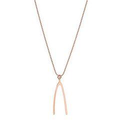 Marc Jacobs Wishbone Necklace