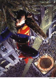 Superman Xmas by Alex Ross