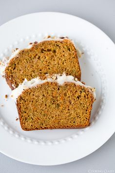 Carrot Zucchini Bread - Cooking Classy