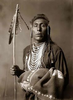 *Crow Indian Brave: 1908